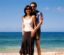 Couple Beach